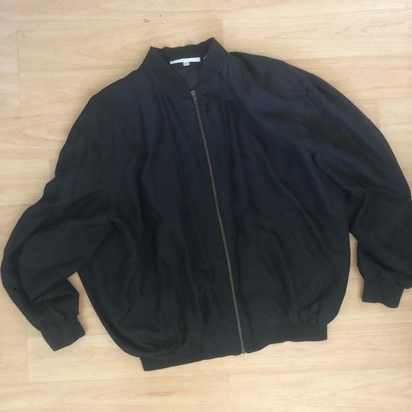 Perry Ellis   Lightweight  Basic Black Jacket